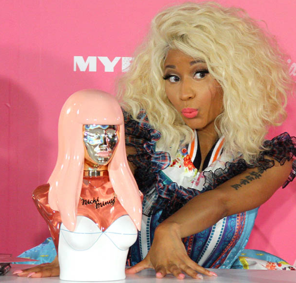 Nicki Minaj Perfume Bottle http://www.pressparty.com/pg/newsdesk/nickiminaj/view/69494/?view=print