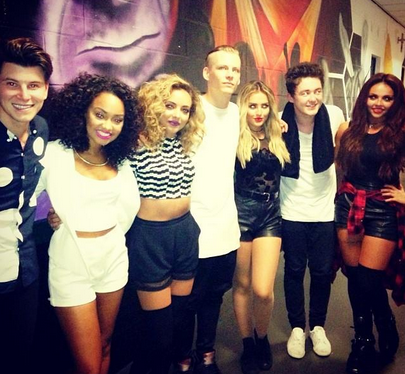 Little Mix want Rixton collaboration and praise the lads' music