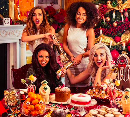 Little Mix ask for fans' help with choosing a Christmas song to cover